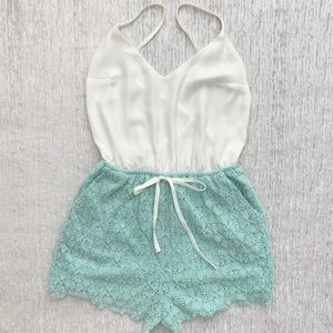 Dainty Hooligan Open Back sleeveless Romper